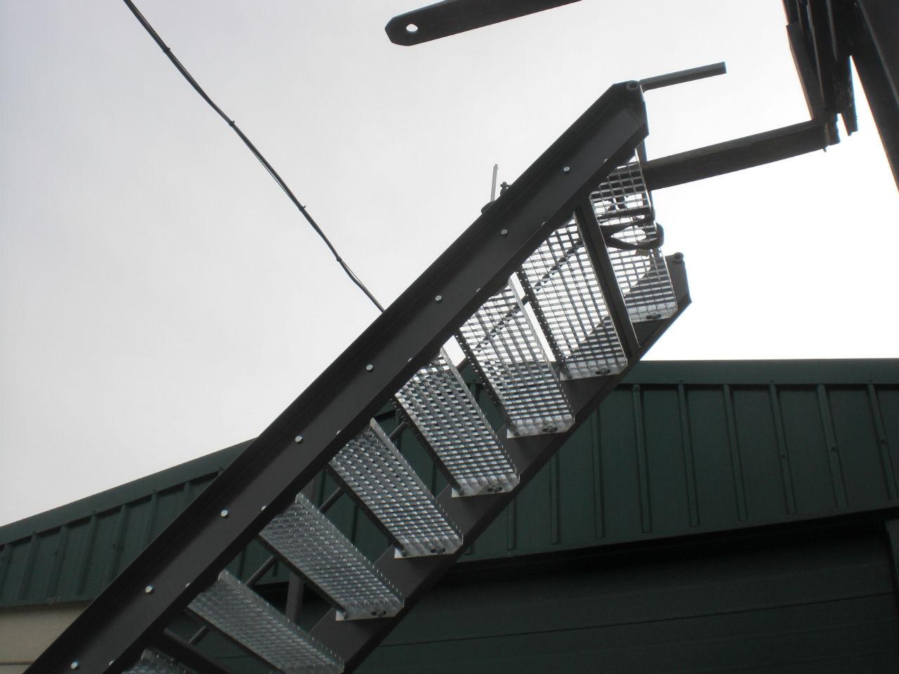 Industri le metalen trap stijn decroos - Metalen trap ...