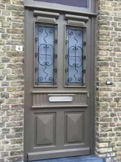 Roosters authentieke voordeur