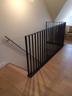 Balustrade rond trapopening & tapleuning